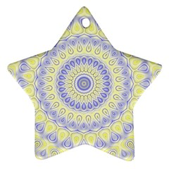 Mandala Star Ornament (Two Sides)