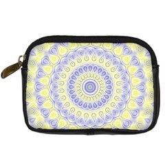 Mandala Digital Camera Leather Case