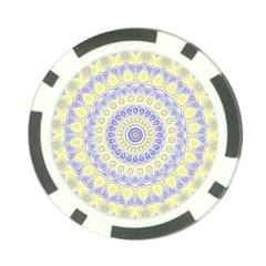 Mandala Poker Chip (10 Pack)