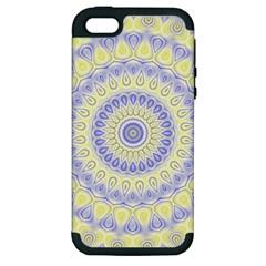 Mandala Apple iPhone 5 Hardshell Case (PC+Silicone)