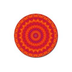 Mandala Magnet 3  (Round)