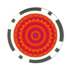 Mandala Poker Chip (10 Pack)