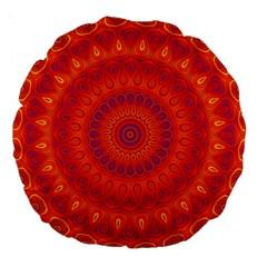 Mandala 18  Premium Round Cushion