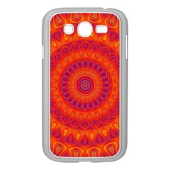 Mandala Samsung Galaxy Grand DUOS I9082 Case (White)