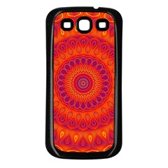 Mandala Samsung Galaxy S3 Back Case (black)