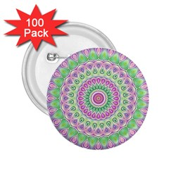 Mandala 2.25  Button (100 pack)