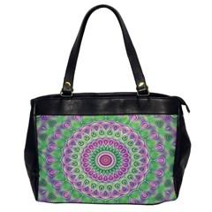 Mandala Oversize Office Handbag (One Side)