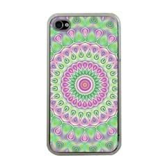 Mandala Apple iPhone 4 Case (Clear)