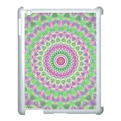 Mandala Apple iPad 3/4 Case (White)