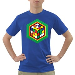 Rubik s Cube Mens' T-shirt (Colored)