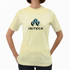 Initech  Womens  T-shirt (Yellow)