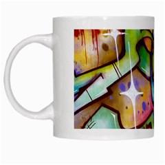 Graffity White Coffee Mug