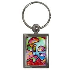 Graffity Key Chain (rectangle)