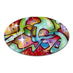 Graffity Magnet (Oval)