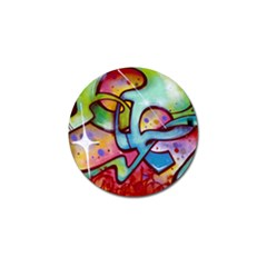 Graffity Golf Ball Marker 4 Pack