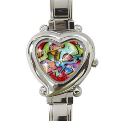 Graffity Heart Italian Charm Watch