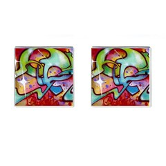 Graffity Cufflinks (square)