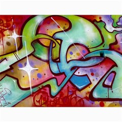 Graffity Canvas 12  x 16  (Unframed)
