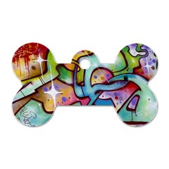 Graffity Dog Tag Bone (Two Sided)