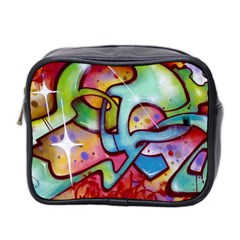 Graffity Mini Travel Toiletry Bag (Two Sides)