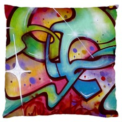 Graffity Large Cushion Case (Single Sided)