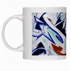 Graffity White Coffee Mug