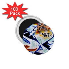 Graffity 1.75  Button Magnet (100 pack)