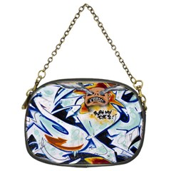 Graffity Chain Purse (two Sided)