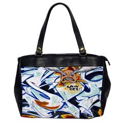 Graffity Oversize Office Handbag (Two Sides)