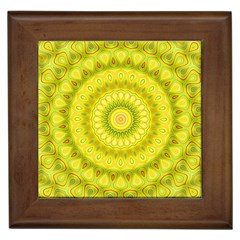 Mandala Framed Ceramic Tile