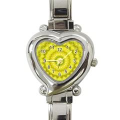 Mandala Heart Italian Charm Watch