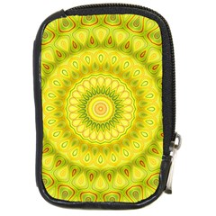 Mandala Compact Camera Leather Case
