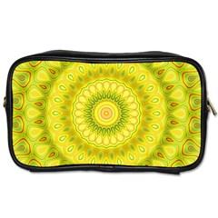 Mandala Travel Toiletry Bag (two Sides)