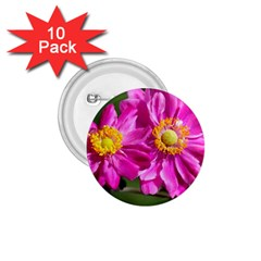 Flower 1.75  Button (10 pack)