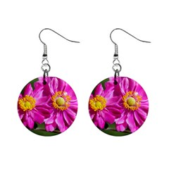 Flower Mini Button Earrings