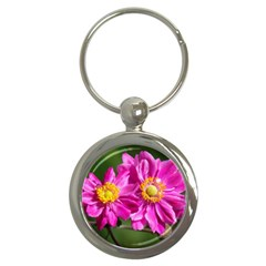 Flower Key Chain (Round)