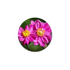 Flower Golf Ball Marker 10 Pack