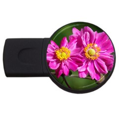 Flower 2gb Usb Flash Drive (round)