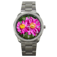 Flower Sport Metal Watch