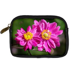 Flower Digital Camera Leather Case