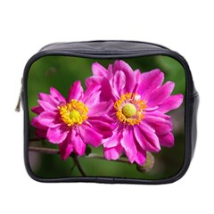 Flower Mini Travel Toiletry Bag (Two Sides)