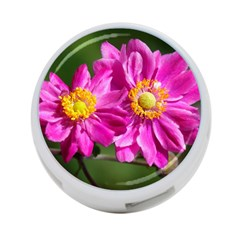 Flower 4-Port USB Hub (Two Sides)