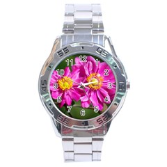 Flower Stainless Steel Watch