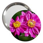 Flower 3  Handbag Mirror Front