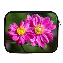 Flower Apple Ipad Zippered Sleeve