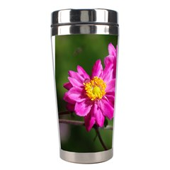 Flower Stainless Steel Travel Tumbler