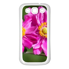 Flower Samsung Galaxy S3 Back Case (White)