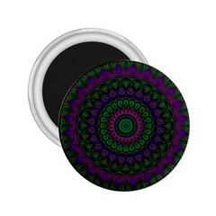 Mandala 2.25  Button Magnet