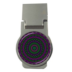 Mandala Money Clip (Round)