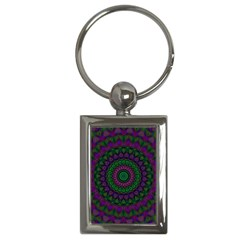 Mandala Key Chain (Rectangle)